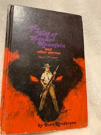 Vintage book The Wolf of Thunder Mountain Oakville, L6L 4X4