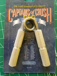 Hand Grippers, Captain of Crush...feel the power! Toronto, M1G 2G7