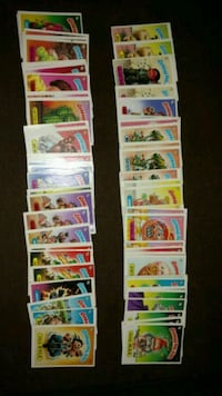Garbage pail kids1985 collectables TOPPS cards
