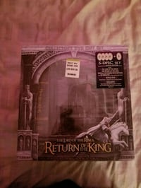 The Lord of the Rings Return of the king DVD case