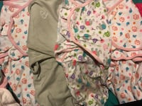 0-3m baby girl clothes willing to trade for formula yellow can