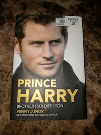 Brand New Prince Harry Biography by Penny Junor