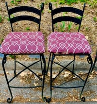 2 Wrought Iron BREAKFAST BAR OR OUTSIDE BISTRO  BOTH FOR $20 Morrisville, 27560