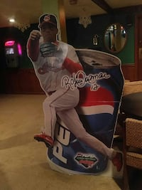 MLB player and Pepsi can standout