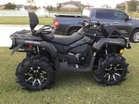 2017 CAN AM OUTLANDER XMR 1000 TRIPLE BLACK