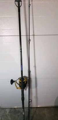 Airwave rod and Penn Spinfisher reel