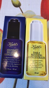 NEW KIEHL'S DAY CONCENTRATE FACIAL OIL MAKEUP REVIVING Toronto, M8W 3P2
