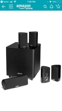 Polk audio 5.1 surround sound system Seattle, 98103
