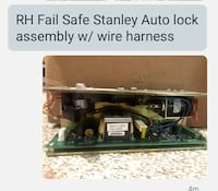 RIGHT HAND FAIL SAFE AUTO DOOR LOCK  Reisterstown, 21136