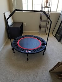 black and red trampoline San Jose, 95116