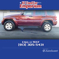 2002 Jeep Liberty Limited Mirriam, 66203