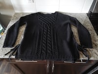 *Never Worn* Black Tape Ladies Large Sweater  Morinville