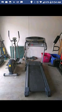 gray and black treadmill and black treadmill Copperas Cove, 76522