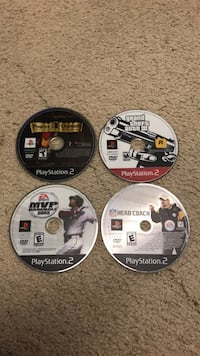 4 playststion 2 games