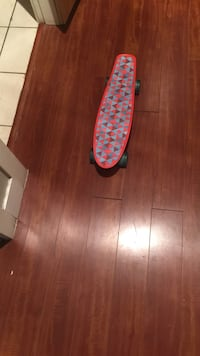 Red and blue cruiser board Surrey, V3X 1R6