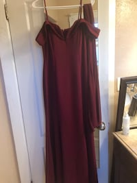 Formal dress( size L)
