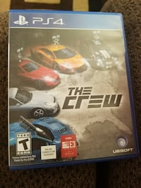 Sony PS4 The Crew game