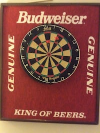 Budweiser Genuine King Of Beers dartboard Centreville, 20120