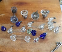 Glass knobs and drawer pulls. Assorted South Pasadena, 91030