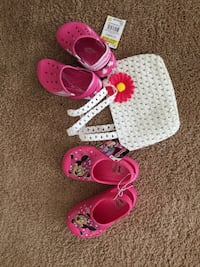 toddler's three pairs of shoes Easley, 29642