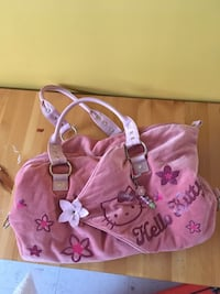 pink and white floral tote bag Repentigny, J5Y 3P5