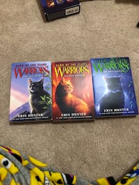 Dawn of the clans warriors 3 books teen reads  Linganore, 21774