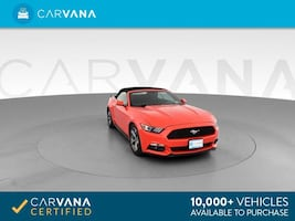 2015 Ford Mustang Convertible V6 Convertible 2D Red