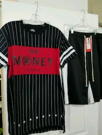Men Bleacher & Mercer Shirt & Track Shorts   Duncanville, 75137