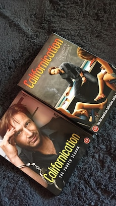 Californication sesong 1-3 og 4 DVD