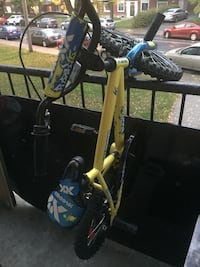 yellow BMX bicycle Châteauguay, J6J 1W6