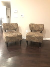 Brown and gray floral fabric sofa chair Fresno, 93722