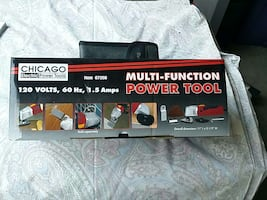 Chicago electric power tools multi-function power tool 120 volts 60 hz