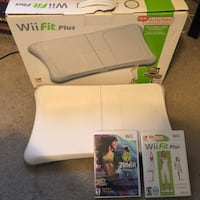 Nintendo Wii Fit Plus with Balance Board and Zumba Game St. Catharines