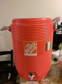 orange the home depot water jug Cícero, 60804