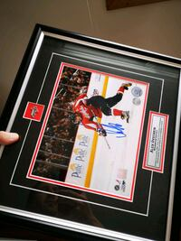 Ovechkin signed certified wall hanging Edmonton, T6E 1N2