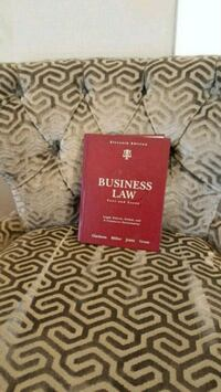 Business Law Book Frederick, 21703