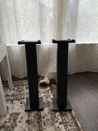 Homemade 24in speaker stands