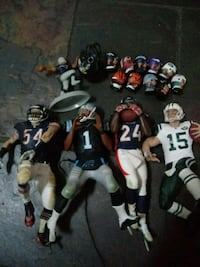Football Toy Collection Lot