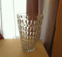Large glass vase (height 10 inches) New York