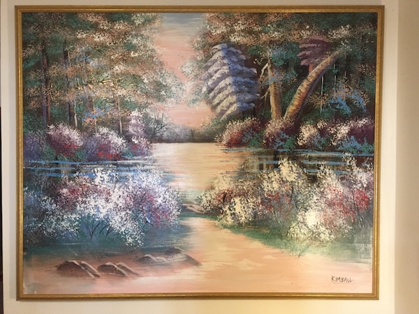 86e2d4b58a36 Original Oil Painting signed by the Artist