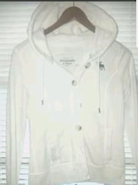 Abercrombie and Fitch white button up jacket  Williamsport, 21795