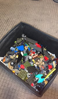 Bin of LEGO and Megablocks Edmonton, T6X 0X8
