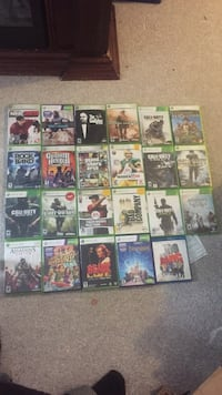 Assorted xbox 360 games London, N6K 1E2