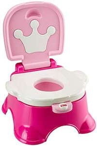 Fisher Price Royal Sounds Stepstool Potty Chair - Princess Pink Unused Toronto, M4T 1Y7