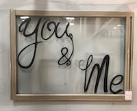 """You & Me"" decorative window - Booth 555 at You Never Know Clarksville, 37040"