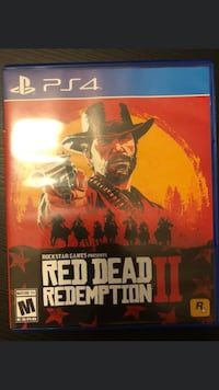 Red dead redemption 2 ps4!