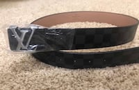 Black and Silver Louis Vuitton Belt Surrey, V3T 2N8