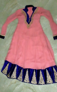 Flared frock shalwar (including shawl and pants) Kegalle