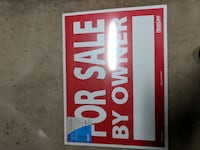 For sale by owner signs X 3