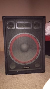 Two (2) 15' PA speakers ($140 for both, or $100 each) 1213 mi